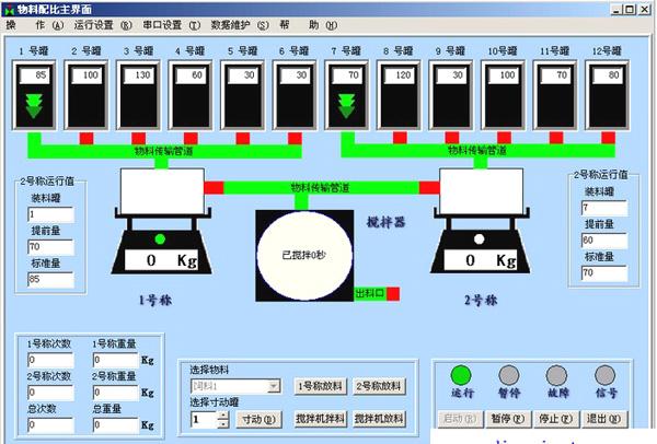 plc物料接线图